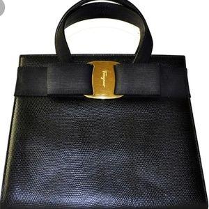 Authentic Salvatore Ferragamo Vara Handbag